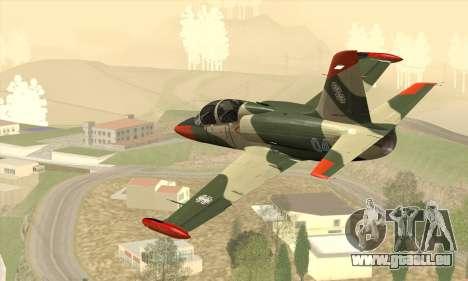 Aero L-39C pour GTA San Andreas laissé vue