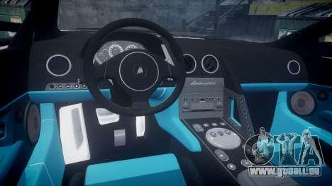 Lamborghini Murcielago 2005 pour GTA 4 Vue arrière