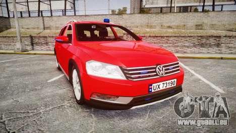 Volkswagen Passat 2014 Unmarked Police pour GTA 4