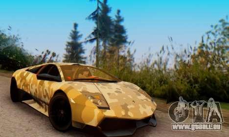 Lamborghini Murcielago Camo SV pour GTA San Andreas