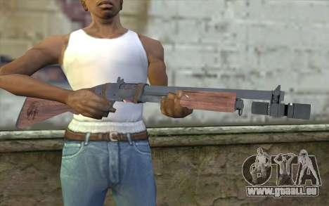 Shotgun from Primal Carnage v1 pour GTA San Andreas troisième écran