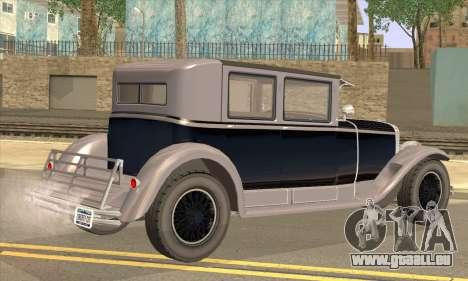 Albany Roosevelt pour GTA San Andreas laissé vue