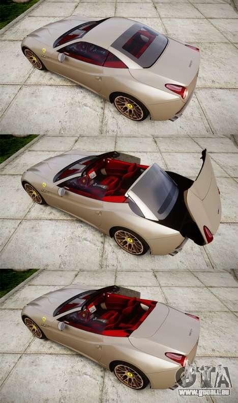 Ferrari California [EPM] pour GTA 4 est un côté