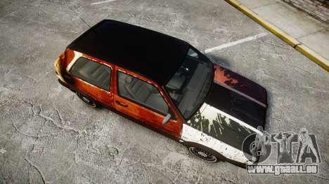 Volkswagen Golf GTI Mk2 Budget Street Cred pour GTA 4 est un droit