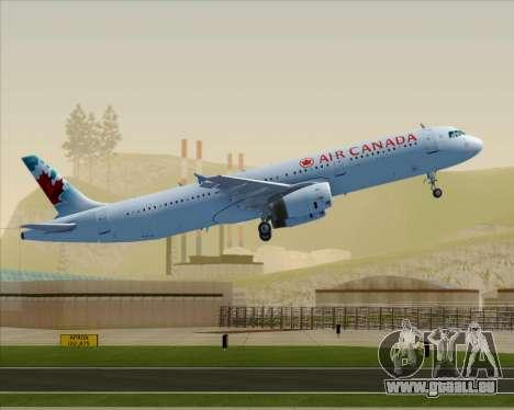 Airbus A321-200 Air Canada für GTA San Andreas
