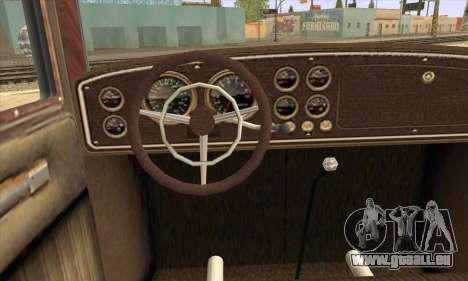 Albany Roosevelt pour GTA San Andreas sur la vue arrière gauche
