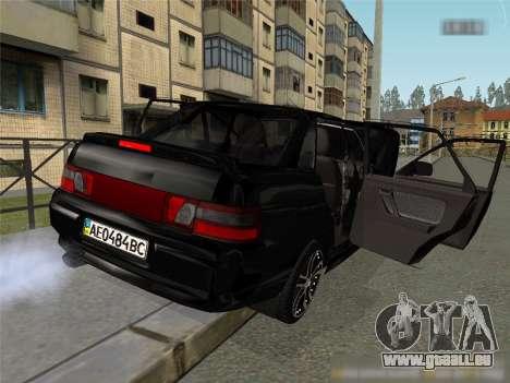 CES 2110 XN pour GTA San Andreas laissé vue