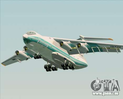 IL-76TD ALROSA für GTA San Andreas Unteransicht