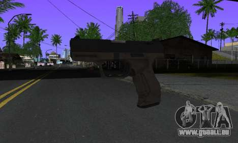 Walther P99 Bump Mapping v2 für GTA San Andreas