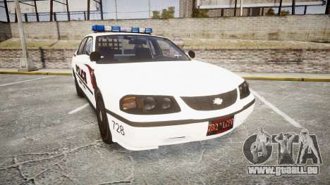 Chevrolet Impala 2003 Liberty City Police [ELS] für GTA 4