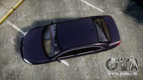 Chevrolet Impala 2010 Undercover [ELS] für GTA 4 rechte Ansicht