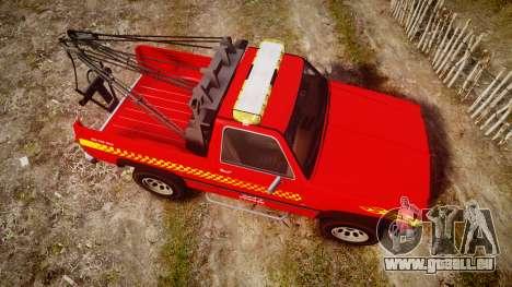 Declasse Rancher Towtruck [ELS] für GTA 4 rechte Ansicht