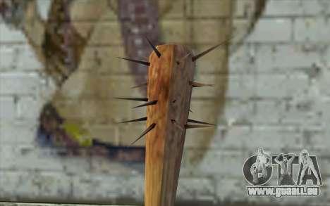 Nail Bat from Beta Version für GTA San Andreas zweiten Screenshot