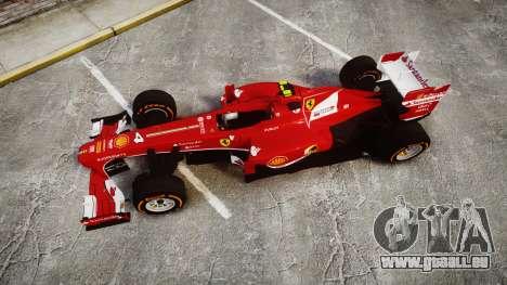 Ferrari F138 v2.0 [RIV] Massa THD pour GTA 4 est un droit