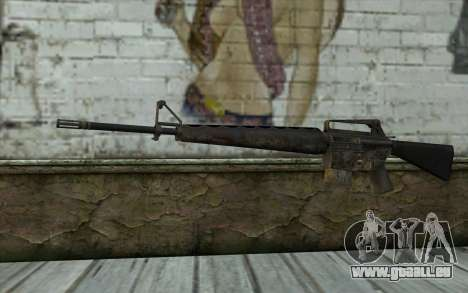 M16A1 from Battlefield: Vietnam pour GTA San Andreas