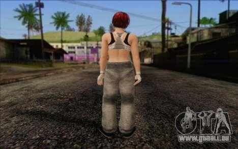 Mila 2Wave from Dead or Alive v11 pour GTA San Andreas deuxième écran