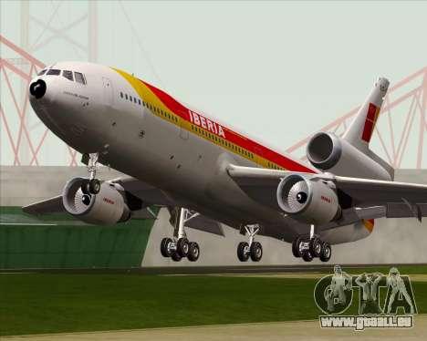 McDonnell Douglas DC-10-30 Iberia pour GTA San Andreas vue intérieure