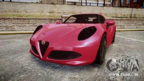 Alfa Romeo 4C für GTA 4