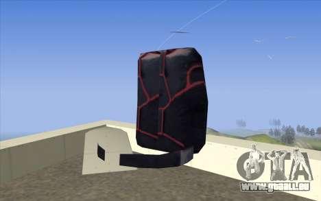 Parachute from Beta Version pour GTA San Andreas deuxième écran