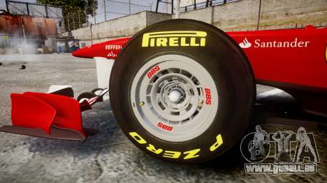 Ferrari 150 Italia Massa für GTA 4 Innenansicht