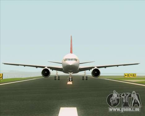Boeing 767-300F Qantas Freight pour GTA San Andreas salon