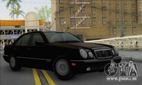 Mercedes-Benz E420 W210 pour GTA San Andreas