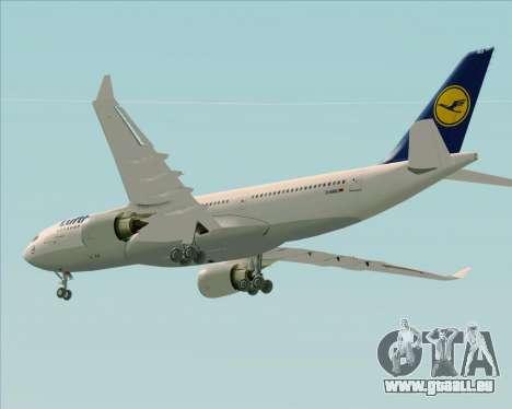 Airbus A330-200 Lufthansa pour GTA San Andreas moteur