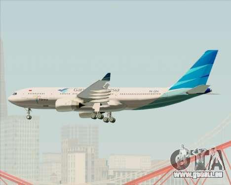 Airbus A330-243 Garuda Indonesia für GTA San Andreas Seitenansicht