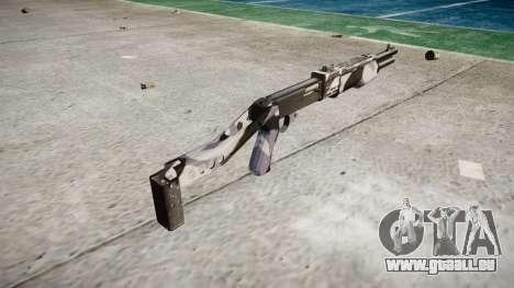 Ружье Franchi SPAS-12 Sibérie pour GTA 4 secondes d'écran
