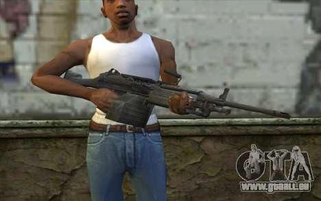 FN M249E2 SAW from SoF: Payback pour GTA San Andreas troisième écran