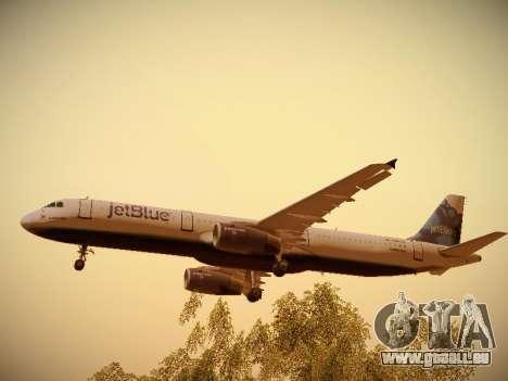 Airbus A321-232 jetBlue La vie en Blue für GTA San Andreas Motor