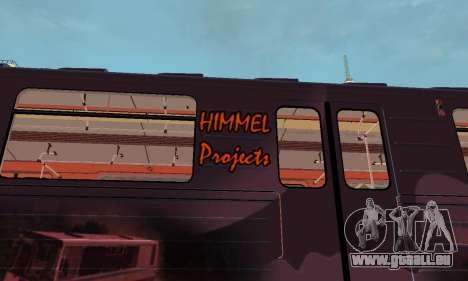Metrophage Typ 81-717 für GTA San Andreas Rückansicht