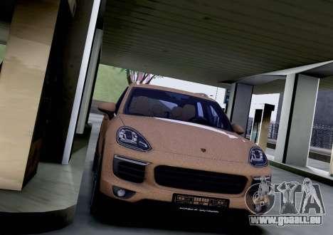 Porsche Cayenne 2015 für GTA San Andreas