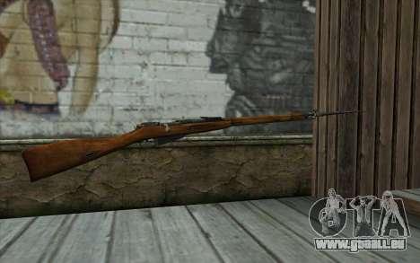 Mosin-v13 pour GTA San Andreas deuxième écran