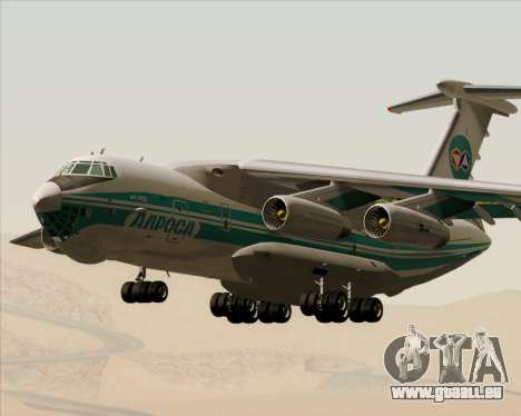 IL-76TD ALROSA für GTA San Andreas Innenansicht