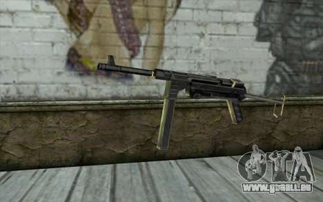 MP-40 from Day of Defeat für GTA San Andreas