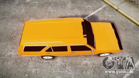 Tofas Kartal SLX Taxi pour GTA 4 est un droit