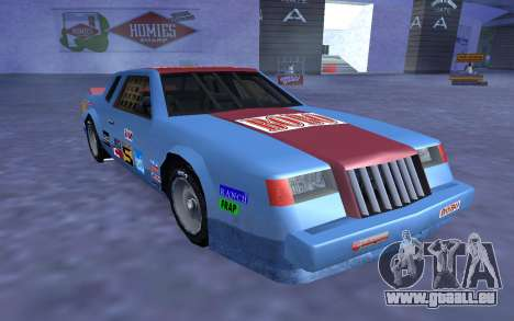 De nouveaux autocollants et non Hotring pour GTA San Andreas vue de dessous