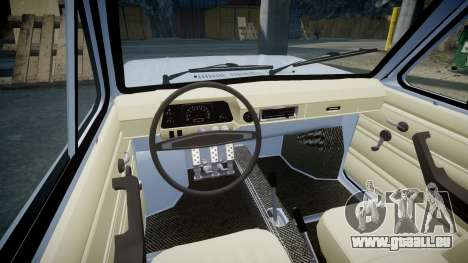 ZAZ-968 pour GTA 4 est une vue de l'intérieur