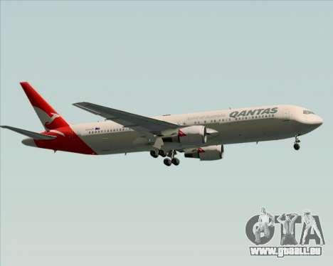 Boeing 767-300ER Qantas (New Colors) pour GTA San Andreas vue de dessus