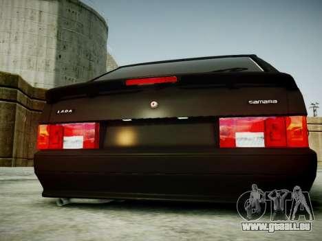 VAZ 2114 für GTA 4 Rückansicht