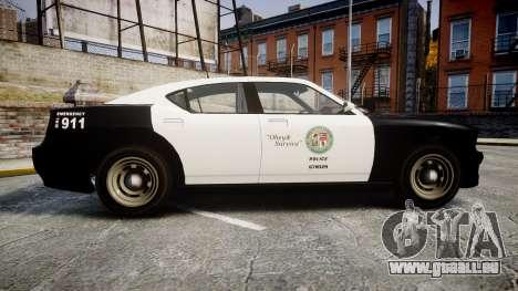 GTA V Bravado Buffalo LS Police [ELS] Slicktop pour GTA 4 est une gauche