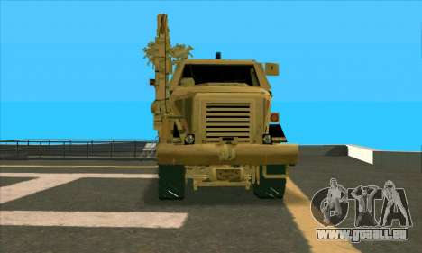 Bonecrusher Transformers 2 für GTA San Andreas rechten Ansicht