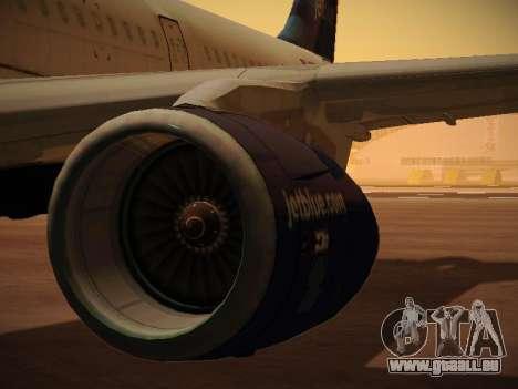 Airbus A321-232 jetBlue La vie en Blue für GTA San Andreas