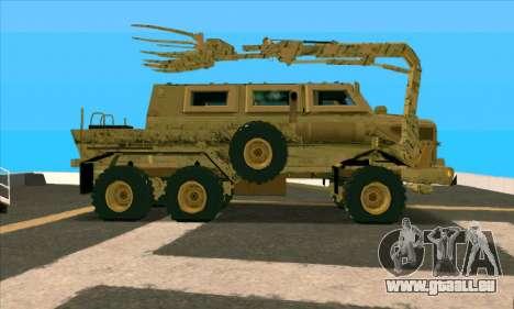 Bonecrusher Transformers 2 pour GTA San Andreas laissé vue