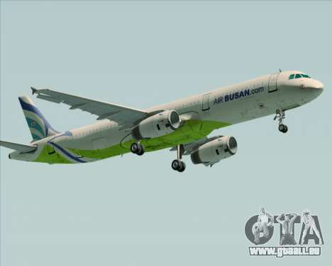 Airbus A321-200 Air Busan pour GTA San Andreas laissé vue
