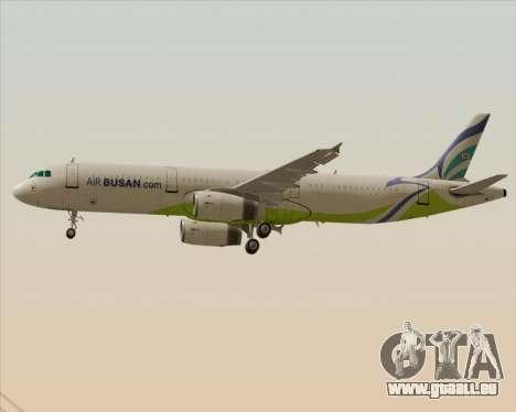 Airbus A321-200 Air Busan pour GTA San Andreas roue