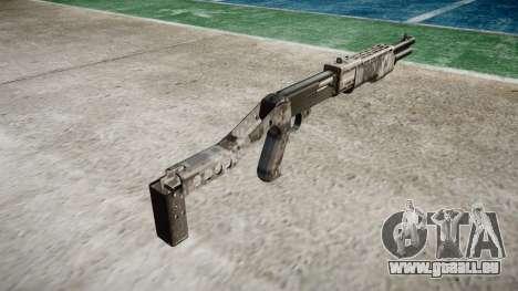 Ружье Franchi SPAS-12 Ghotex für GTA 4 Sekunden Bildschirm