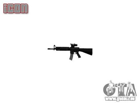 Gewehr M16A4 ACOG Ziel für GTA 4 weiter Screenshot