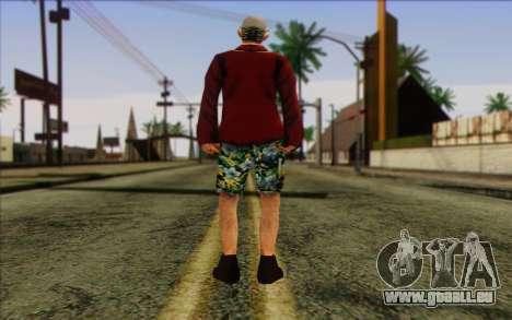 Squad Mitglied AI Haut 1 für GTA San Andreas zweiten Screenshot